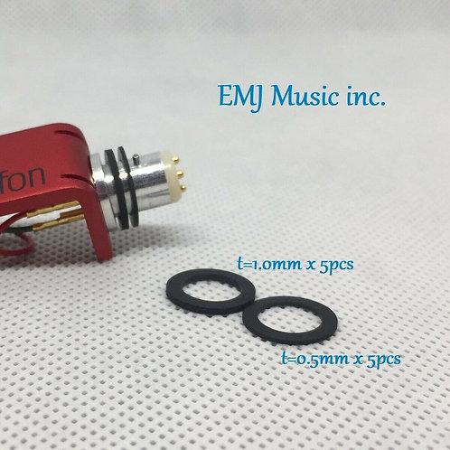 EMJ Headshell Washer 1.0mm & 0.5mm EWX-15 Made in Japan
