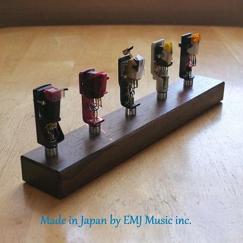 EMJ Rosewood headshell cartridge stand keeper 5SR +PRESENT