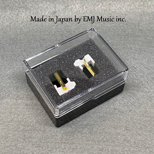 Set of 2 Styli N44-7 for SHURE M44-7 +PRESENT