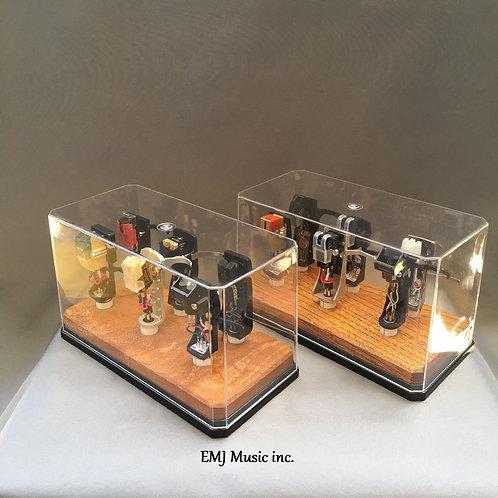 Set of 2 EMJ Zelkova cartridge keepers 6CW Made in Japan