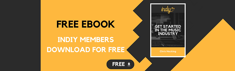 Get Started in the Music Industry – FREE Indiy ebook - Chris Hocking