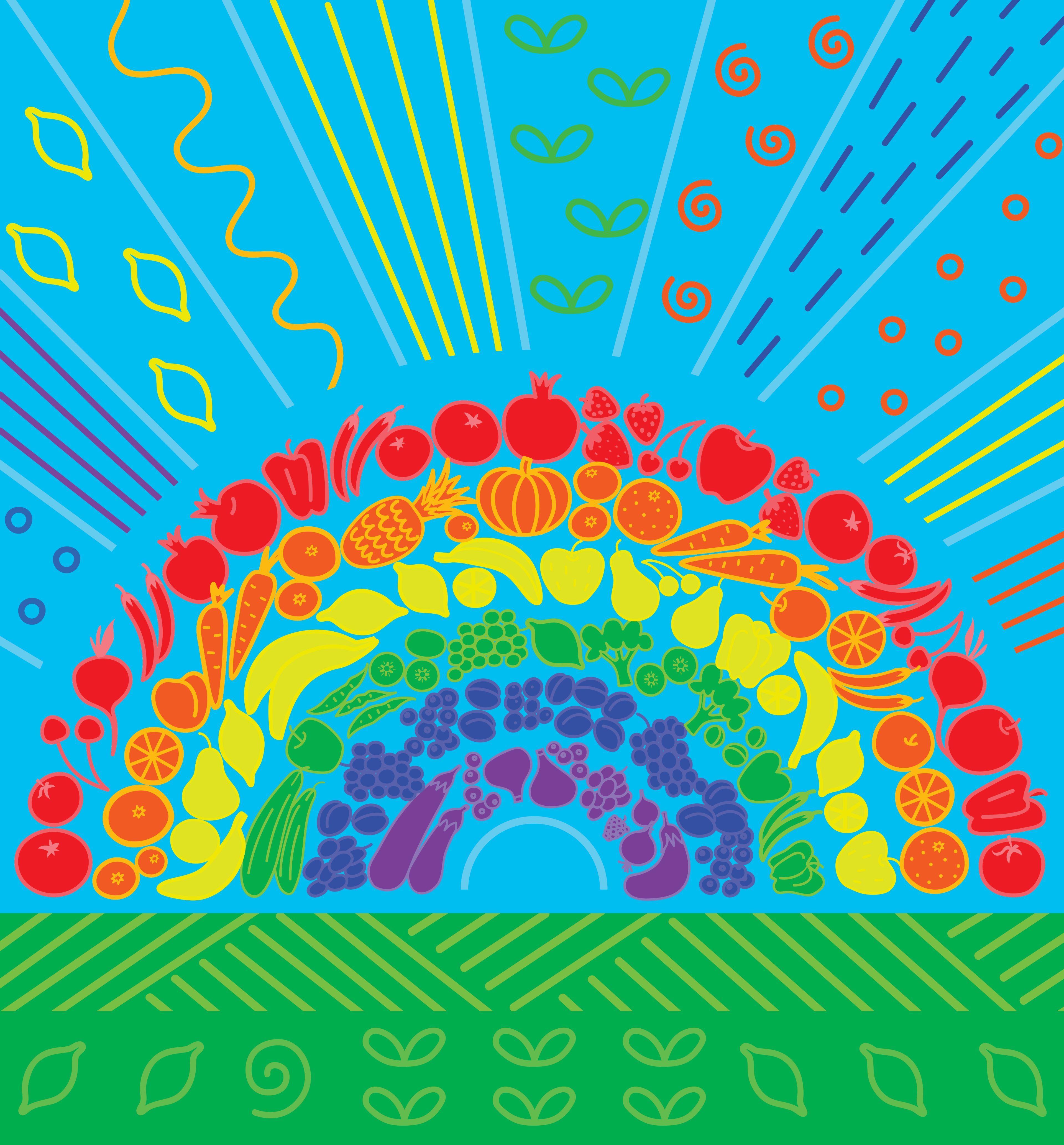 rainbow CMYK3840