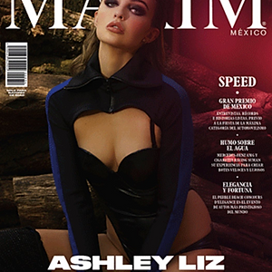 Maxim Mexico Cover October 2019
