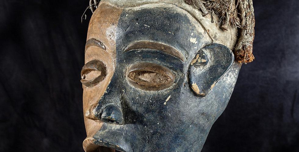 Máscara Bakongo. El Congo