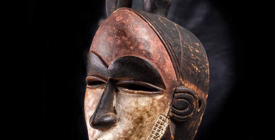 Máscara Yohure. Costa de Marfil