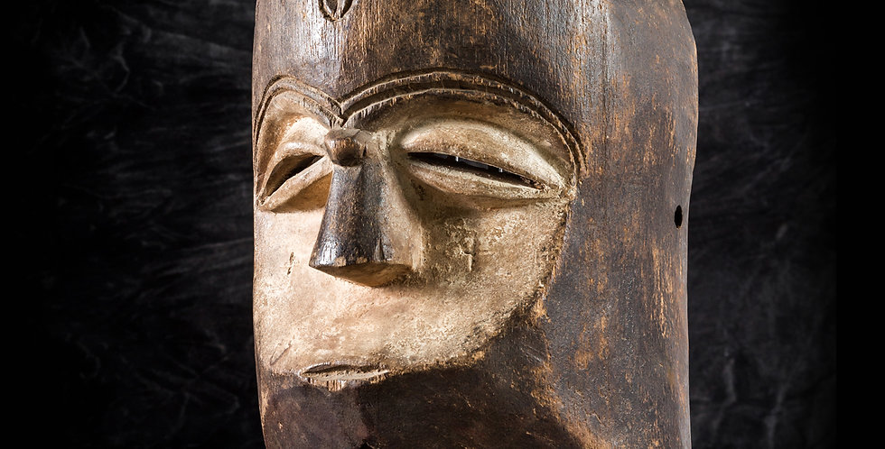Máscara kwele. Gabón