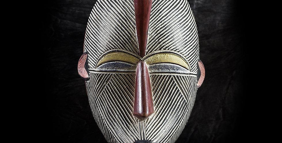 Máscara Luba. El Congo
