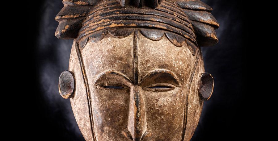 Máscara Ibo. Nigeria