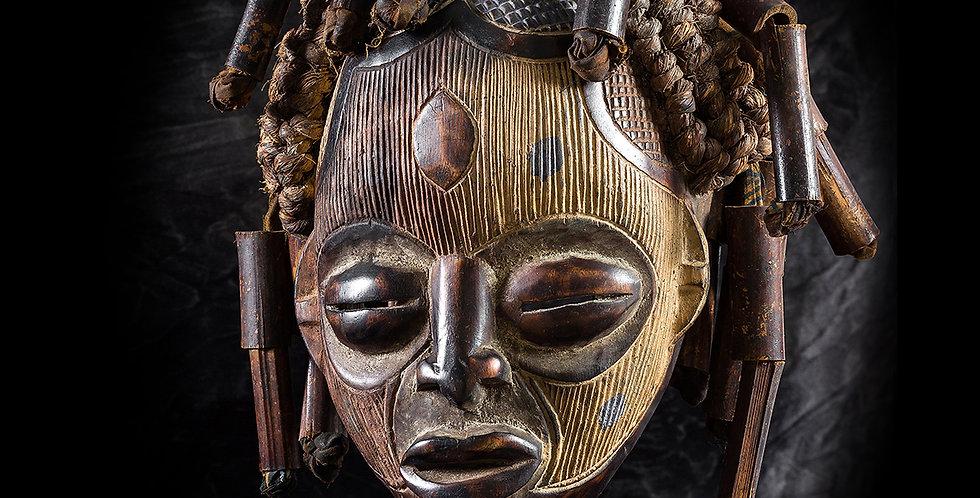 Máscara Chokwe. El Congo