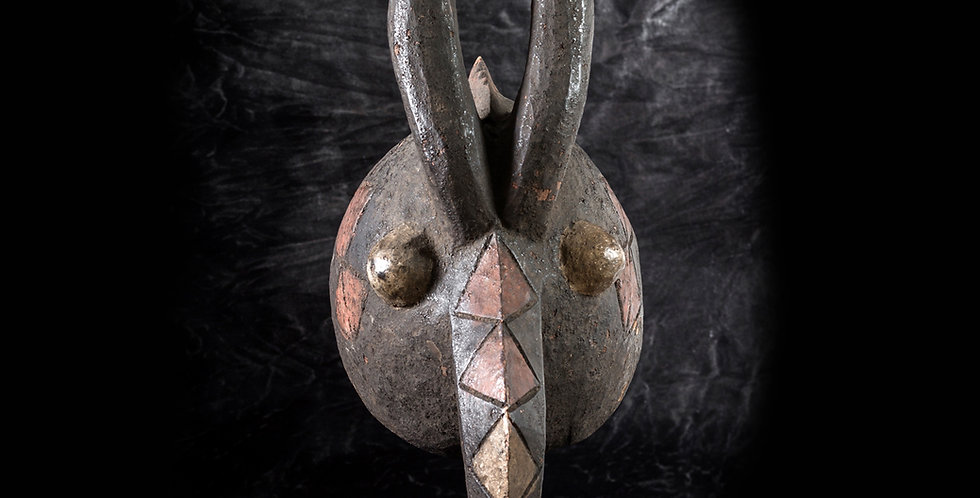 Máscara Mossi. Burkina Faso