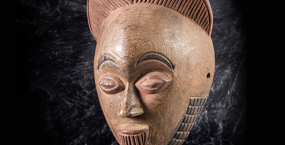 Máscara Tikar. Camerún