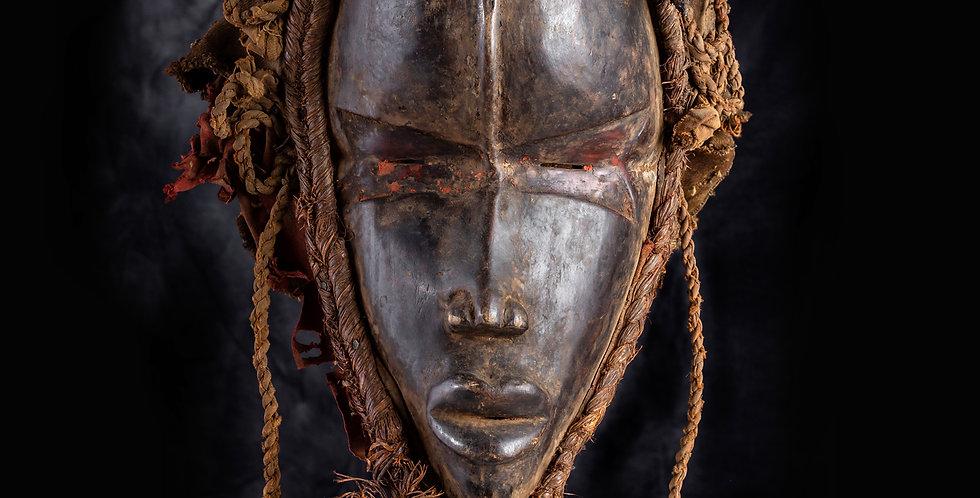Máscara Dan. Liberia
