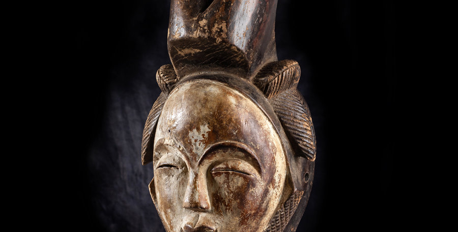 Máscara Lumbo. Gabón