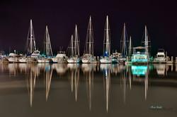Glassy Night at Fulton Harbor