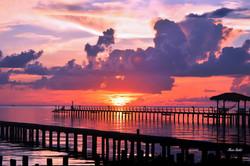 Fulton Beach Rd at Dawn