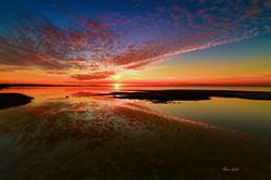 Dramatic Sunset in Copano Bay
