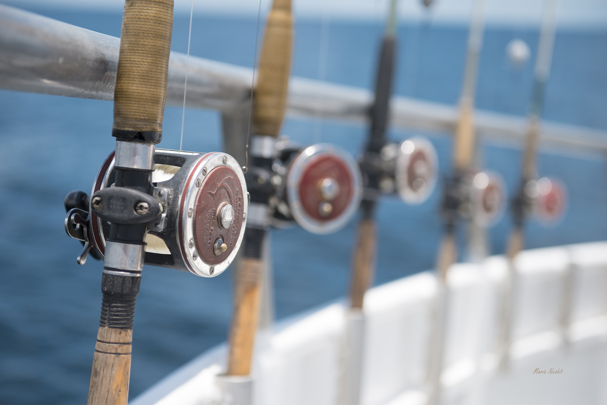 A Reel Calm Day Offshore