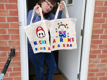 Brave Bags made for Brave Boys!