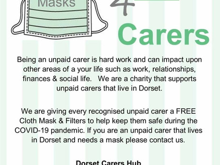 Are you a carer......need a mask?