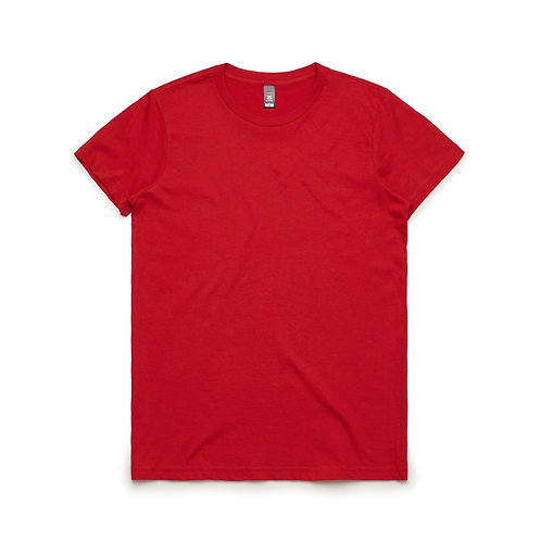 AS Colour Womens Maple Tee - Red