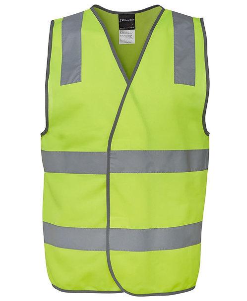 Hi Vis (D+N) Safety Vest - Yellow