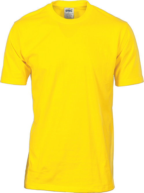 Hi Vis S/S Cotton Jersey Tee - Safety Yellow
