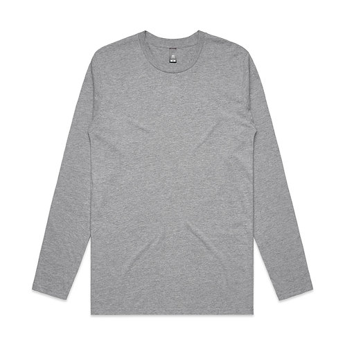 Men's Ink LS Tee Grey Marle - Available from