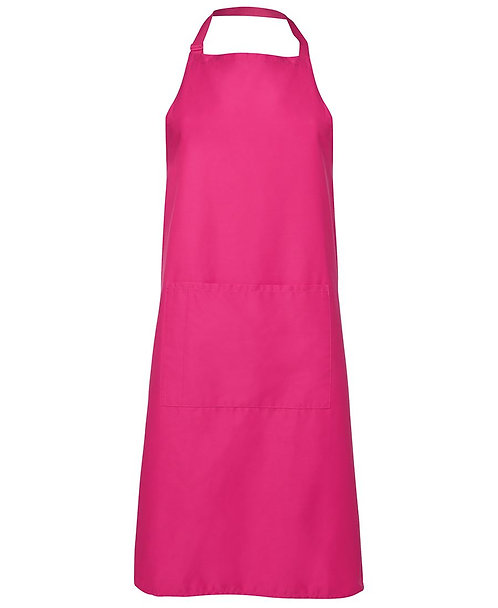 Apron with Pocket - Pink