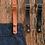 Thumbnail: BYRON – Denim Bib Apron INCLUDING Detachable Strap - 4 Colours
