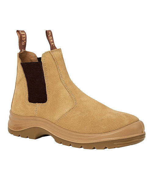 JB's Elastic Sided Safety Boot - Sand