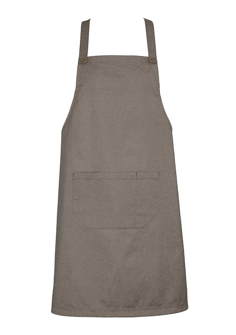 Natural Easy Bib Apron with Changeable Straps