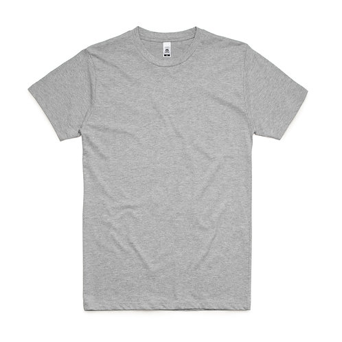AS Colour Block Tee Grey Marle - From