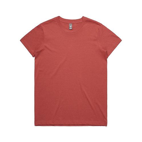 AS Colour Womens Maple Tee - Coral