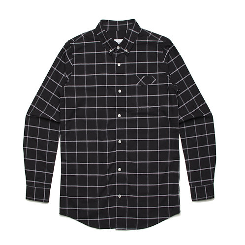 AS Colour Mens 100% Cotton Check Shirt - Available from