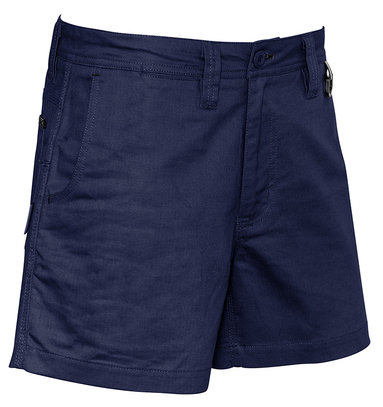 Syzmik Mens Rugged Cooling Short Short - Navy