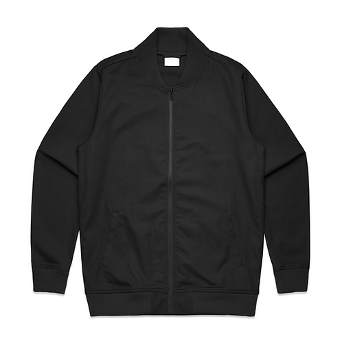Unisex Drill Bomber Jacket - Black