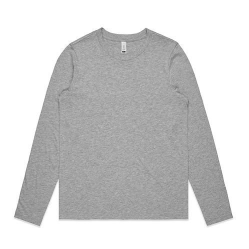AS Colour LS Chelsea Tee Grey Marle - Available From