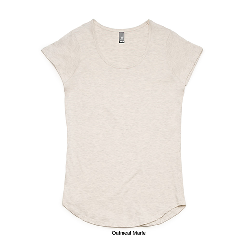 AS Colour Women's Mali Tee Oatmeal - Available from