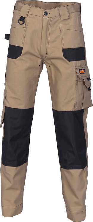 DNC Duratex Cotton Duck Weave Cargo Pants - Desert Sand (knee pads not included)