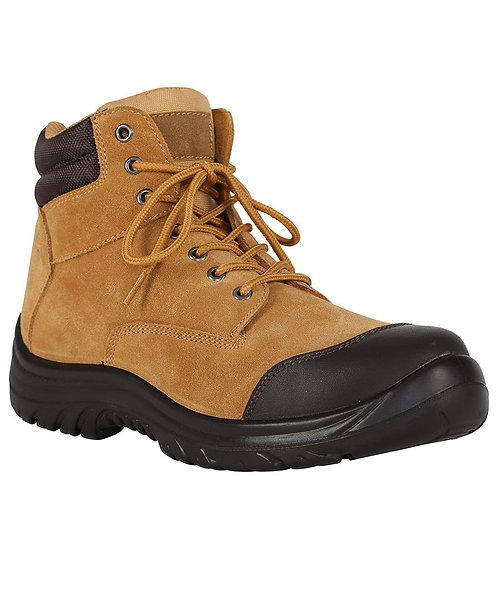JB's Steeler Zip Lace Up Safety Boot - Wheat