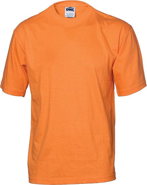 Hi Vis S/S Cotton Jersey Tee - Orange