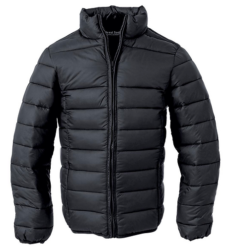 The Weather Shield Youth Puffer Jacket - Black