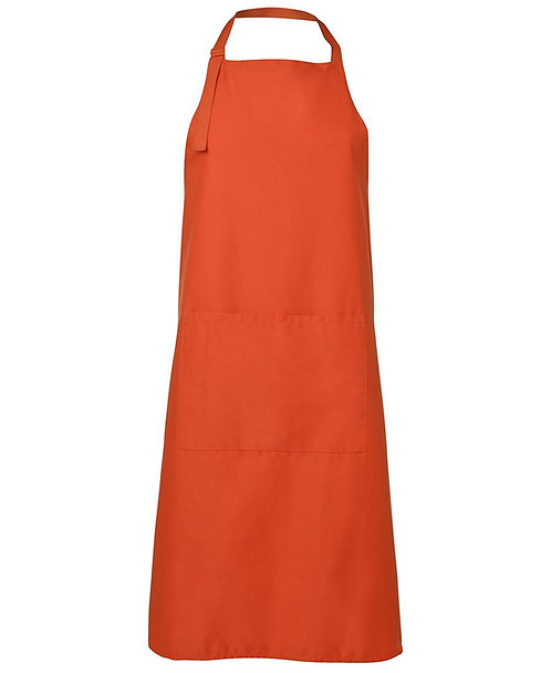 Apron with Pocket - Orange