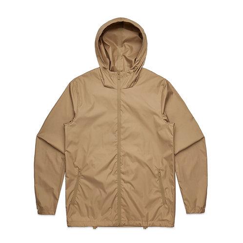 AS Colour Section Zip Jacket - Khaki