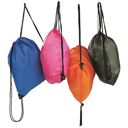 Backsack Drawstring Bag 13 Colours Available - MOQ 10