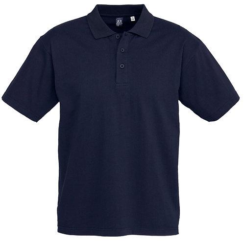 Mens Premium 100%  Cotton Polo - Navy