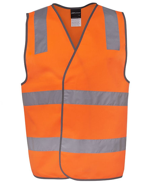 Hi Vis (D+N) Safety Vest - Orange