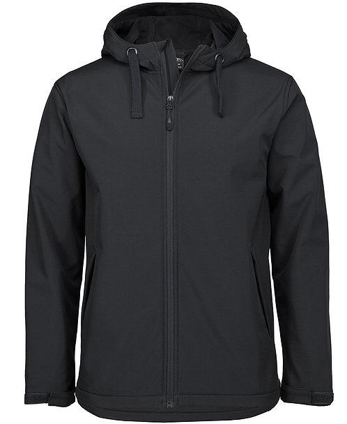 Unisex Podium Water Resistant Hooded Jacket - Black
