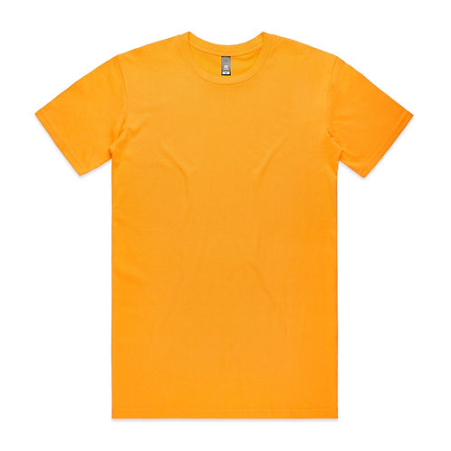 AS Colour Mens Staple Tee - Gold