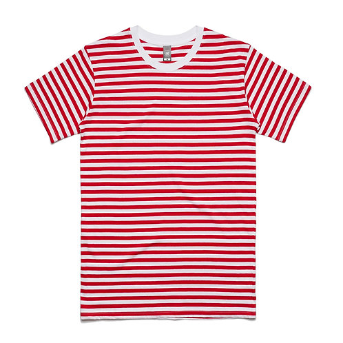 AS Colour Mens Staple Stripe Tee - Available from